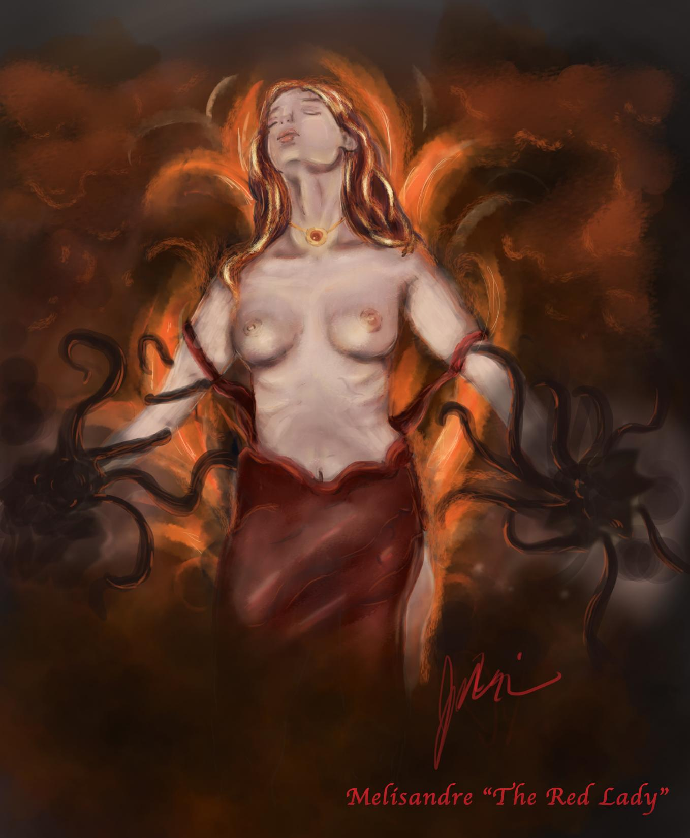 art game thrones erotic of Shadows of the damned paula