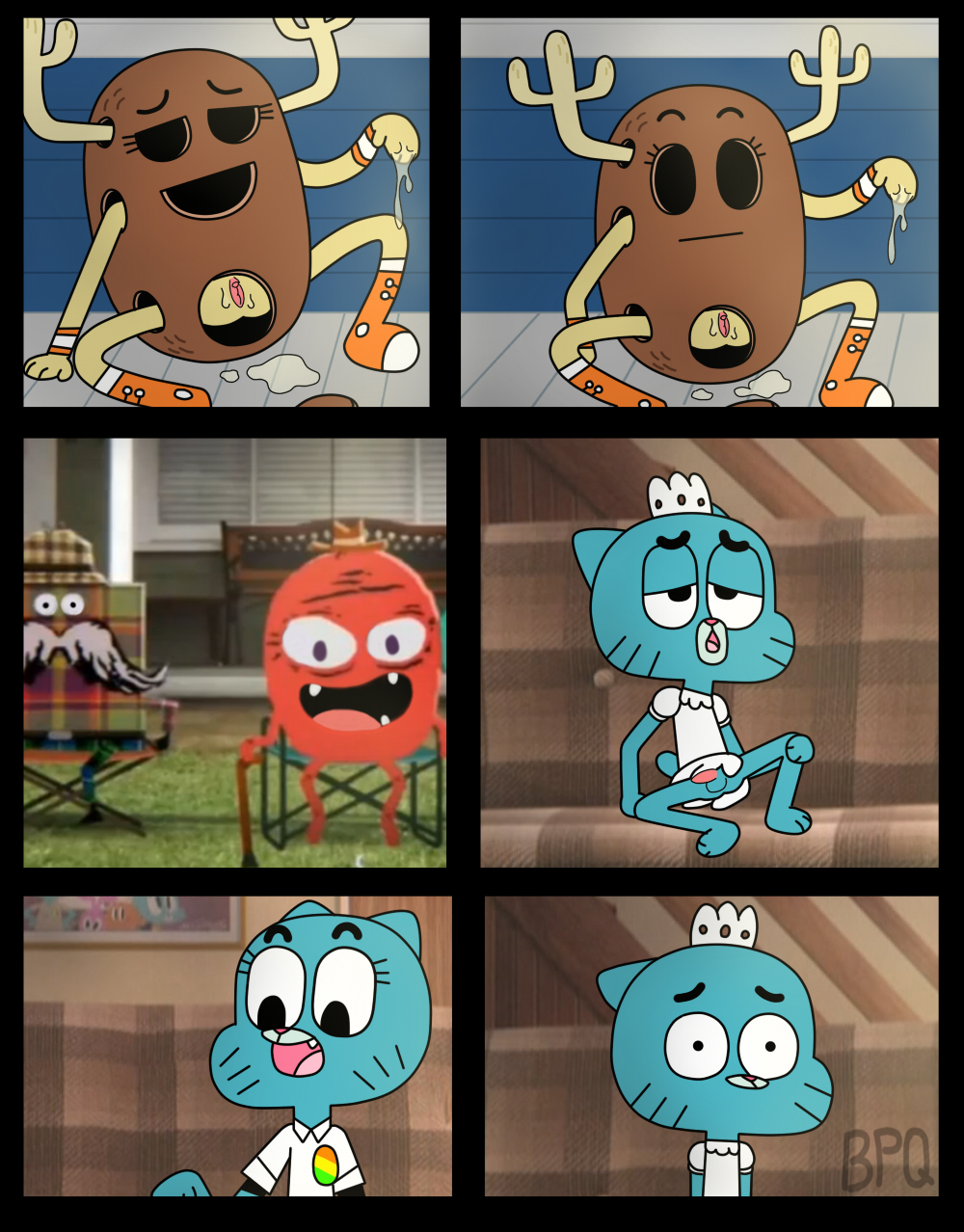 sex of gumball world comic amazing Jericho seven deadly sins naked