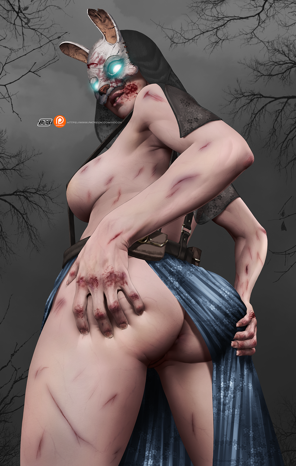 daylight dead huntress by the Please_dont_bully_me_nagatoro