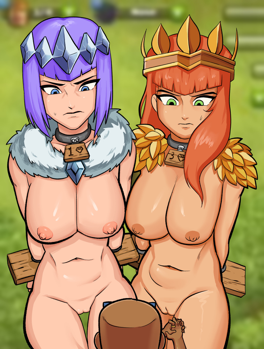 clans comic clash porn of Ranma 1/2 shampoo outfits