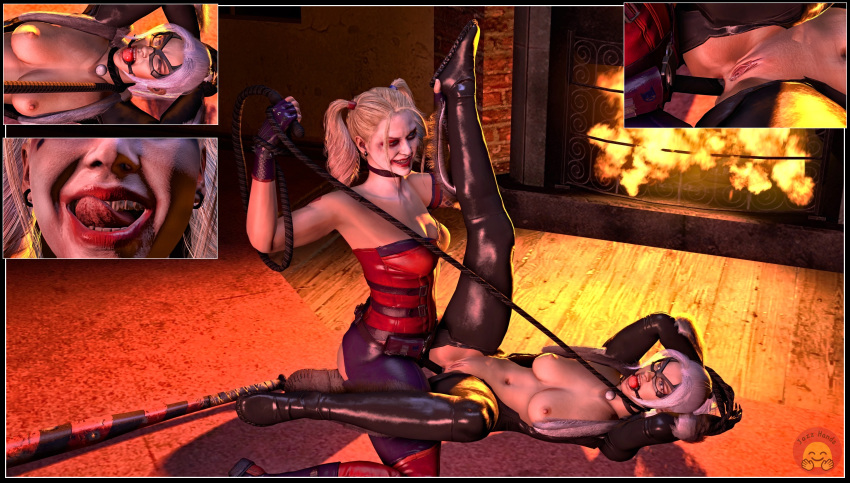 naked quinn with joker harley Tales-of-androgyny